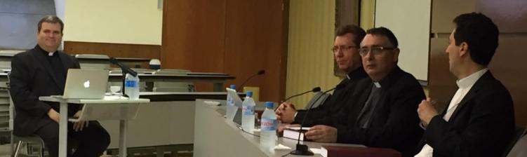 El profesor Ramón Navarro defiende su tesis doctoral en el Instituto Superior de Liturgia de Barcelona
